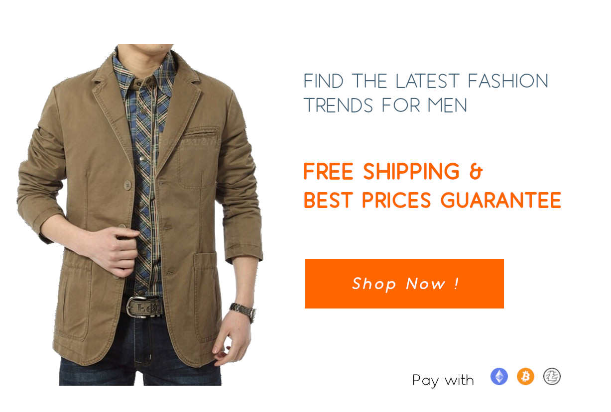 Click to see the latest men's apparels for sale on Gipsybee.com