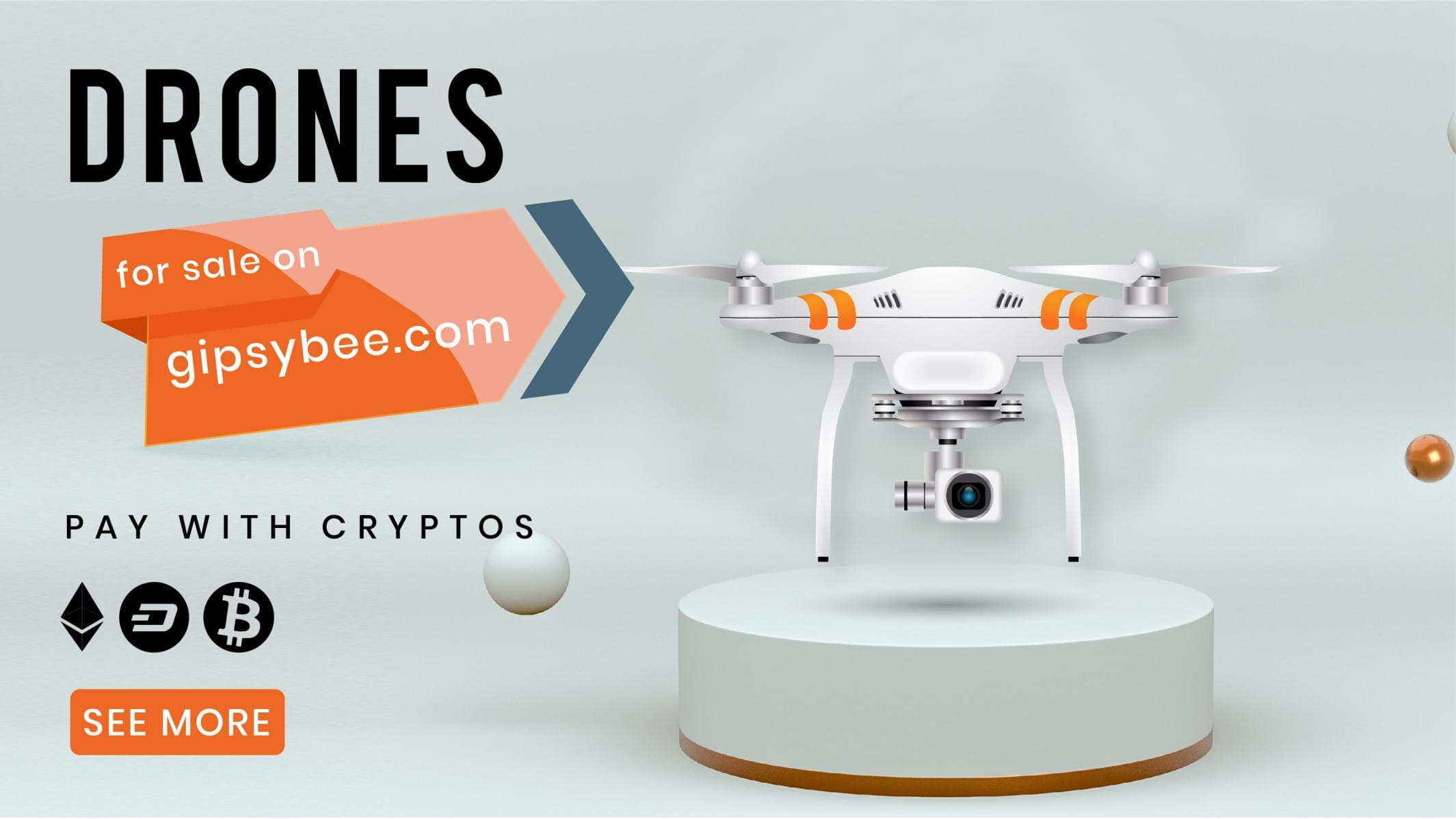 Click to see our RC Quadcopters for sale in Ethereum on Gipsybee.com with FREE SHIPPING