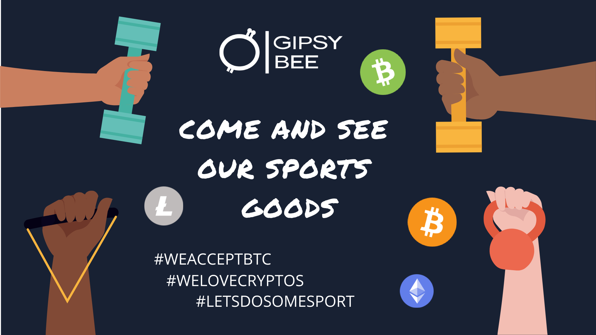 Click to see best Sport Items for sale in Bitcoin on Gipsybee.com